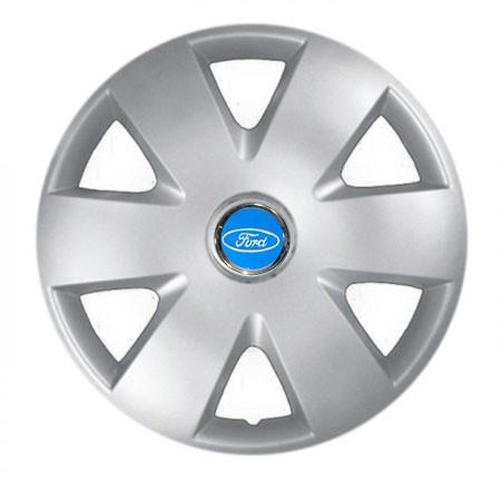 "Колпаки для колес 15"" c логотипом автомобиля 4 шт (SKS 308) Форд"