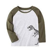 Модный детский реглан для мальчика Динозавр Jumping Beans