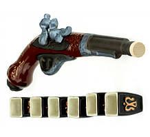 Керамический подарочный пистоль