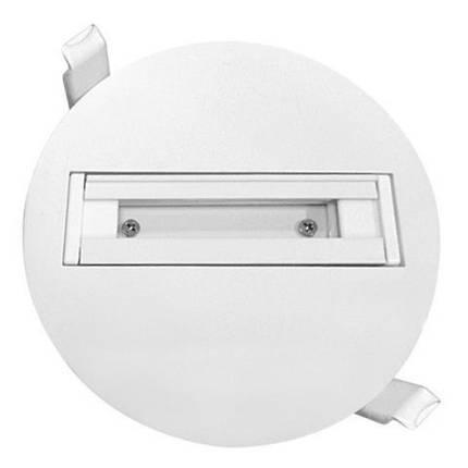 Трек Horoz встраиваемый одиночный для LED светильника белый Код.58433, фото 2