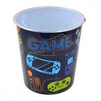 Корзина д / бумаг YES 706921 пластик. круглая 21 мая * 16 5 см Game (1)