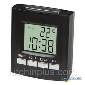 Говорять настільний годинник з термометром і будильником VST 7027C