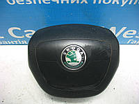 Подушка безопасности в руль Skoda Fabia 2010-2014 Б/У