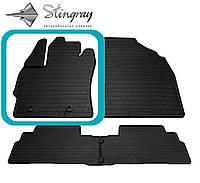 TOYOTA Verso (R20) 2012- Водительский коврик Черный в салон