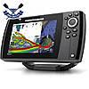 Пятилучевой эхолот флэшер Humminbird Helix 7x CHIRP MEGA SI GPS G3N лучи бокового и нижнего сканирования, фото 3