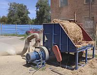 Универсальный измельчитель фитомассы с горизонтальной загрузкой. 800-1800 кг/час.
