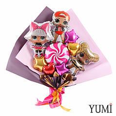 Мини-букет с куклами ЛОЛ