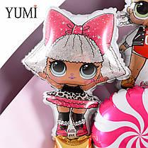 Мини-букет с куклами ЛОЛ, фото 3