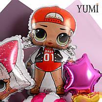 Мини-букет с куклами ЛОЛ, фото 2