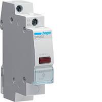 Световой индикатор с диодом Hager LED 12/48 В красный (SVN132)