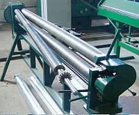 Листогибочная машина вальцы с ручным приводом ВР2000