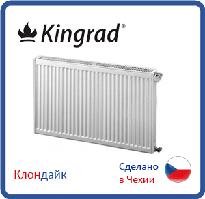 Стальной радиатор Kingrad 22 тип 500*400 боковое подключение