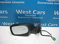 Зеркало боковое левое на 13 контактов Volvo XC90 2002-2014 Б/У