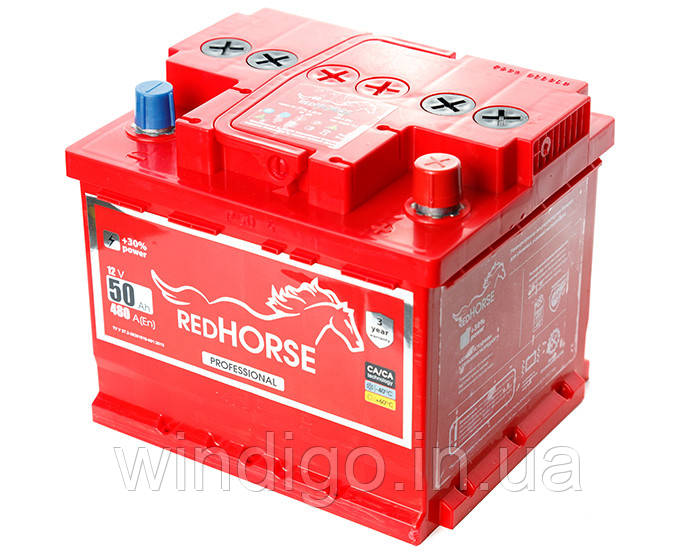 Red Horse 6СТ-50 (1)