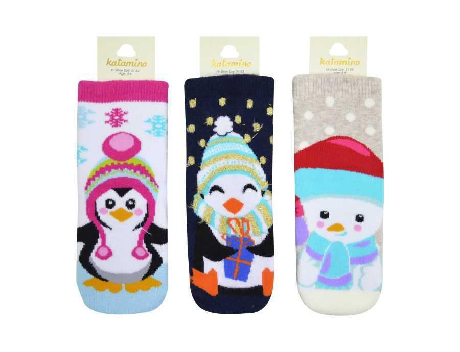 Махровые носки 1-2 года  для девочек ТМ Katamino 5489612730150