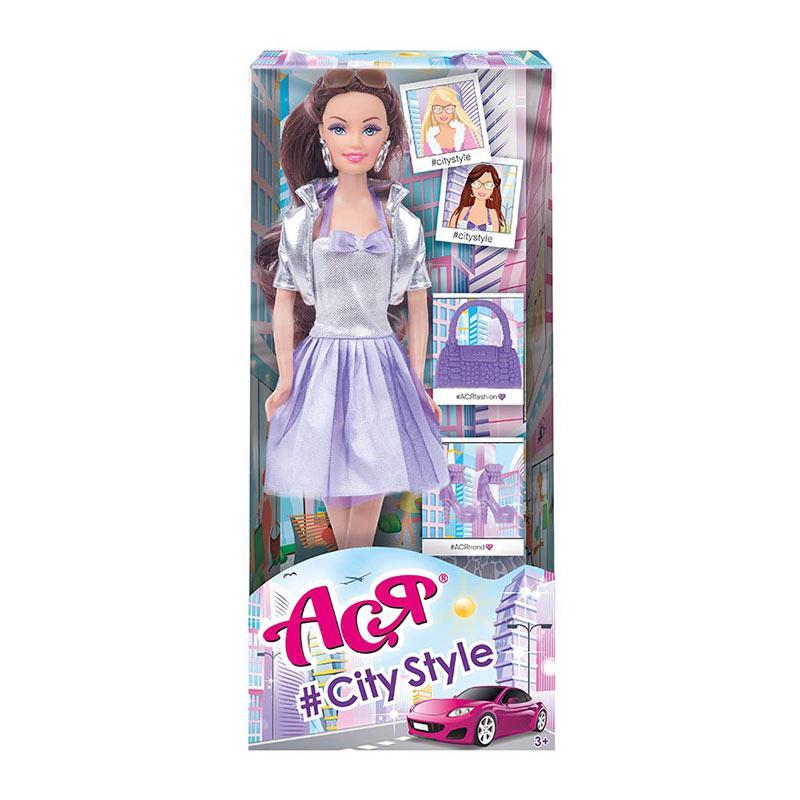 35125.Лялька Ася з аксесуарами