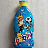 Детский шампунь Футбол 3в1  Bobini Kids  400 мл