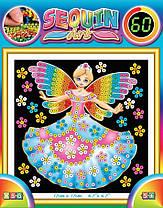 Набір для творчості Sequin Art 60 Казкові принцеси (SA1336)