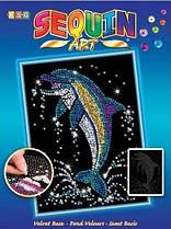 Набір для творчості Sequin Art Blue Дельфін (SA1516)