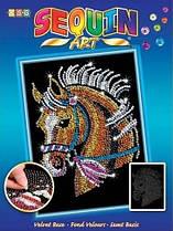 Набір для творчості Sequin Art Blue Кінь (SA1517)