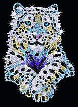 Набір для творчості Sequin Art Blue Сніжний леопард (SA1404)