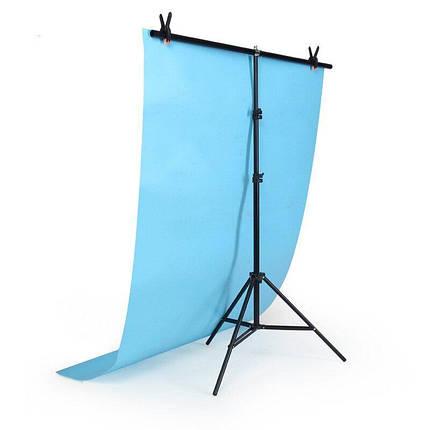 Стійка тримач для фону 140×200 см кріплення прищіпками, фото 2