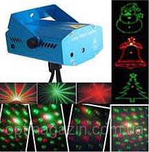 Лазерный проектор на ножках Новогодние рисунки