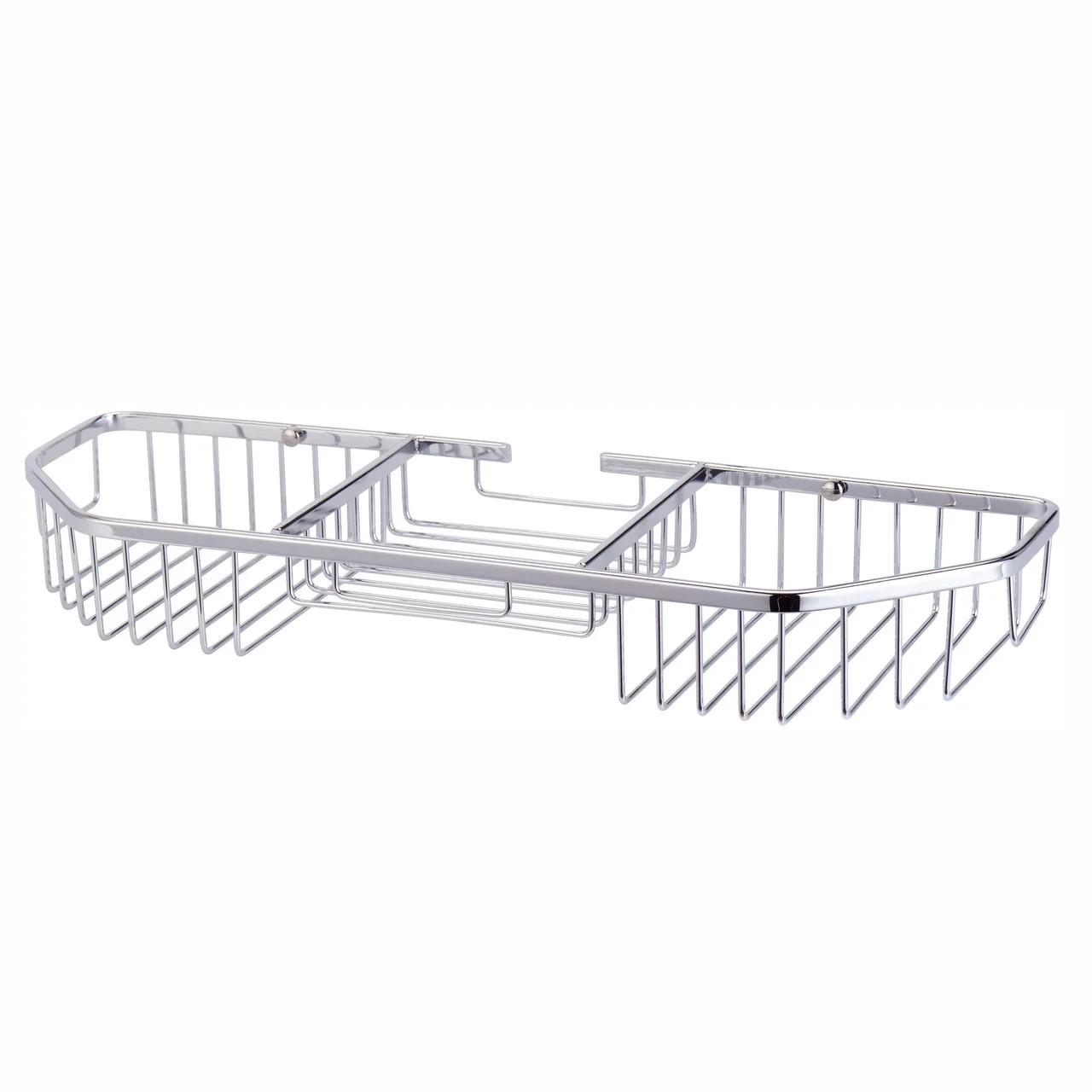 Корзинка для ванной комнаты из хромированной стали Besser KM-8506