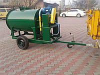 Установка для производства пенобетона наливного мобильная  (перевозная)