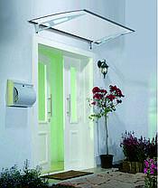 Навес для входных дверей Siker 800-K (800*1200) Серый, фото 3
