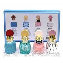 Женский подарочный набор мини-парфюмов Miu Miu 4x20 ml (реплика)