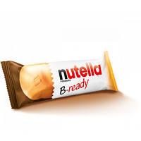 Nutella B-ready Вафельные батончики с шоколадно-ореховой настой внутри, фото 2