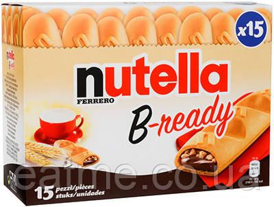 Nutella B-ready Вафельные батончики с шоколадно-ореховой настой внутри