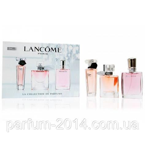 Женский подарочный набор Lancome 3 в 1 (реплика), фото 2
