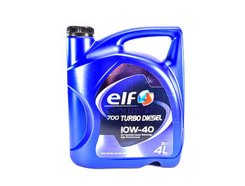 Моторное масло ELF Evolution 700 Turbo Diesel 10W40 1л. 4 л
