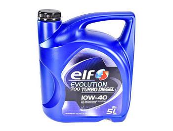 Моторное масло ELF Evolution 700 Turbo Diesel 10W40 1л. 5 л