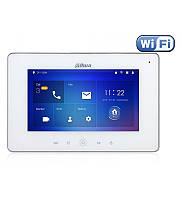 """Видеодомофон Wi-Fi, IP (домофон) Dahua DHI-VTH5221DW-S2, экран 7"""""""