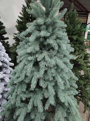 Новогодняя елка Литая Ковалевская 1.5 м голубая, фото 2