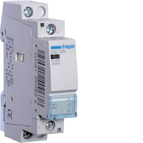 Контактор Hager 25A 1НВ 24В (ESD125)