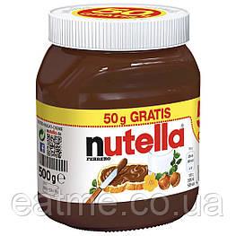 Nutella шоколадно-ореховая паста