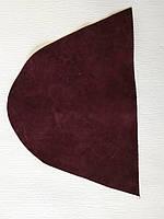 Кожа натуральная для рукоделия Бордовая 25*17см, №164, фото 1