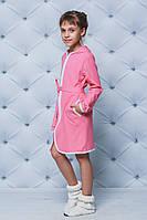 Детский трикотажный халат на молнии .  3 цвета. Рост: от 116 до 152