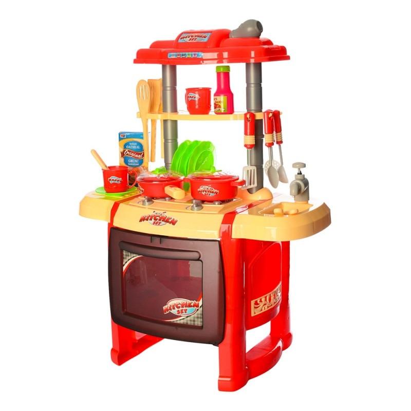 Кухня WD-P15-R15 красная