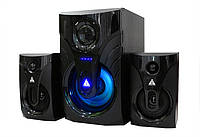 Колонки Golden Field LA-215G Black 15W+2*10W MP3 player + FM + Bluetooth