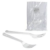 Вилки пластиковые в индивидуальной упаковке