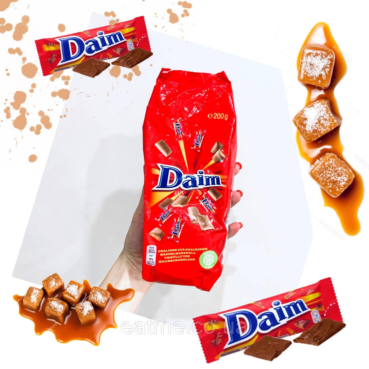 Daim Солёная карамель в молочном шоколаде (конфеты)