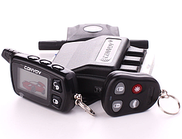 Двусторонняя автомобильная сигнализация на авто Convoy MP-90 v.3 LCD гарантия 2 года