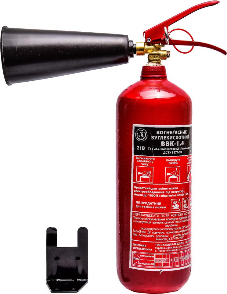 Огнетушитель Poputchik углекислотный 3,5 кг