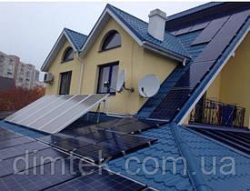 """Сонячна мережева електростанція  """"16 кВт"""", на дах"""