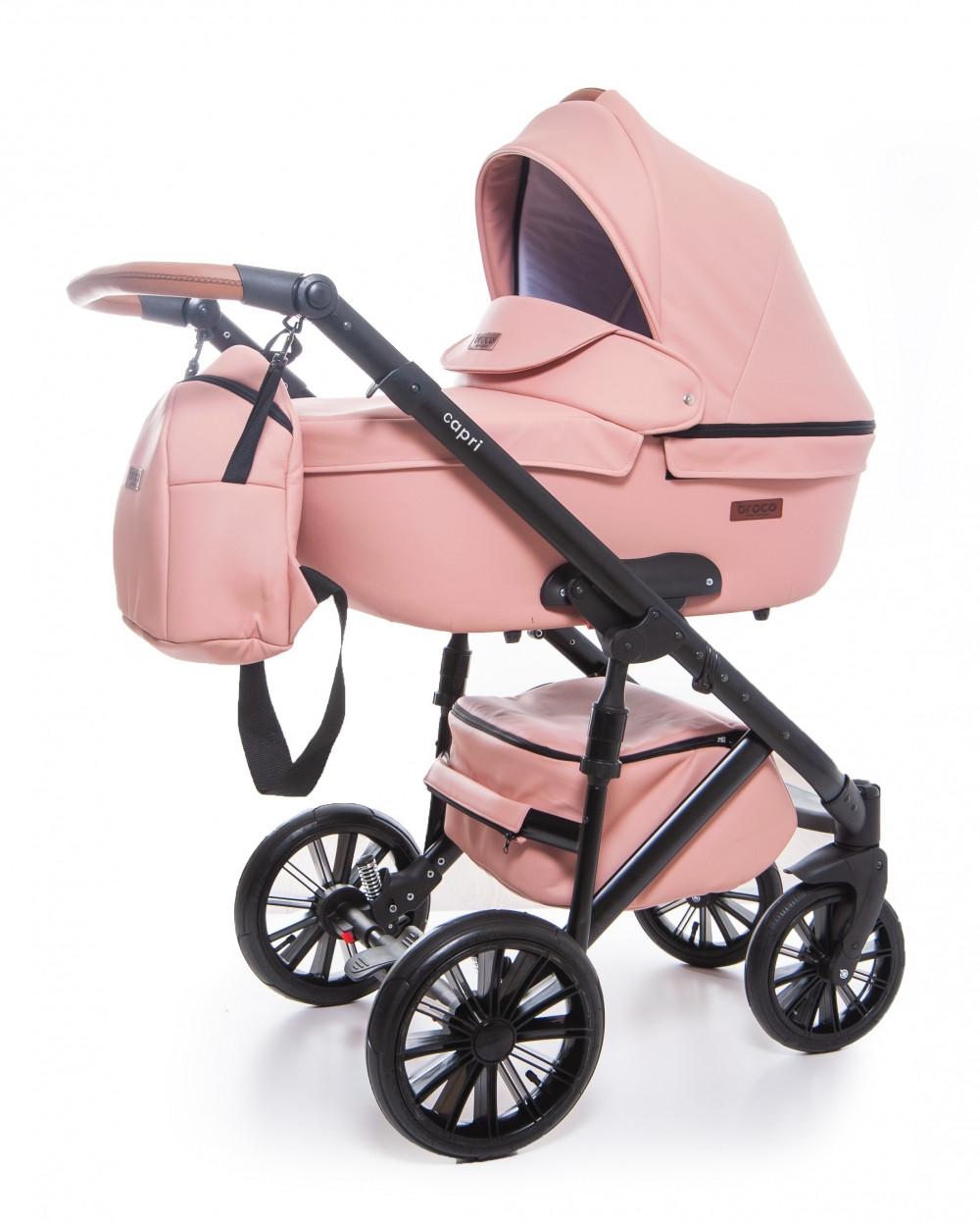 Коляска Broco Capri 02 Pink 2в1